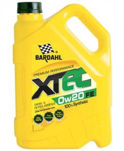 Масло BARDAHL XTEC 0W20 FE - 5L
