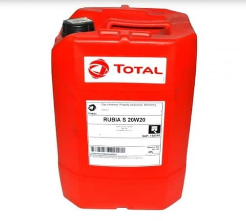 Масло TOTAL RUBIA SX 20W20 - 20 литра