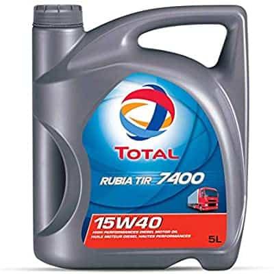 Масло TOTAL RUBIA TIR 7400 15W40 – 5 литра