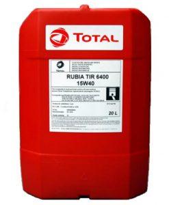 Масло TOTAL RUBIA TIR 6400 15W40 – 20 литра