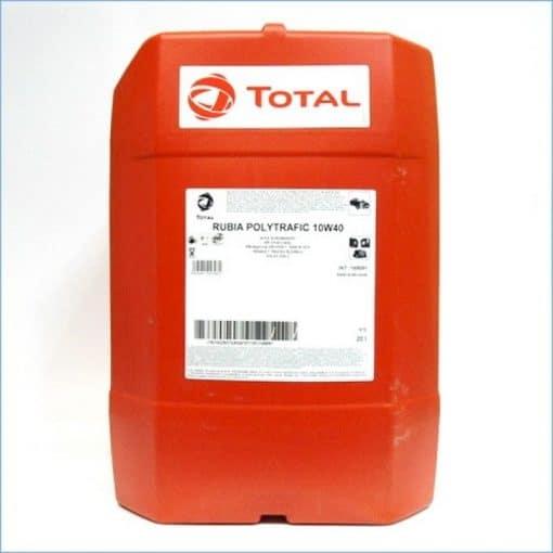 Масло TOTAL RUBIA POLYTRAF 10W40 – 20 литра