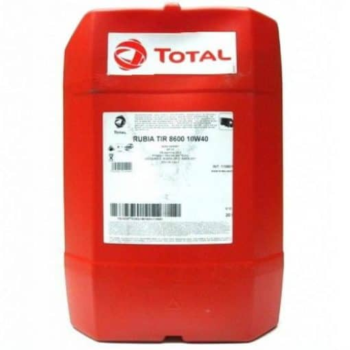 Масло TOTAL RUBIA TIR 8600 10W40 – 20 литра