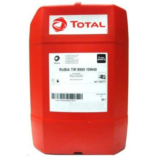 Масло TOTAL RUBIA 8900 10W40 – 20 литра
