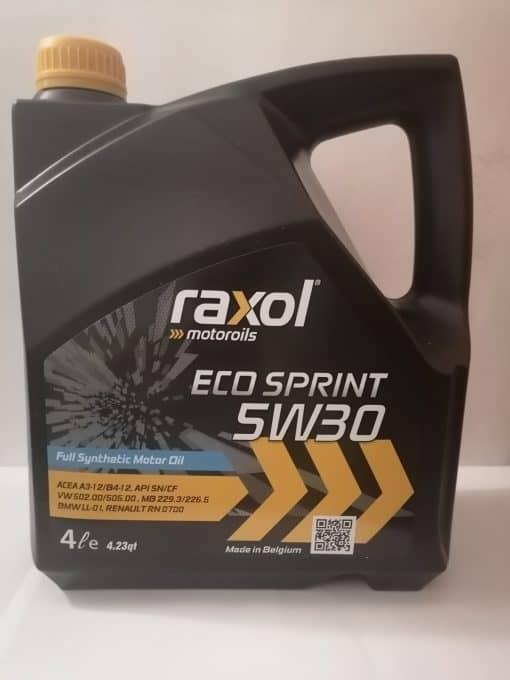 Масло Raxol Eco Sprint 5W30 - 4 литра