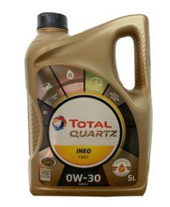 Масло TOTAL QUARTZ INEO FIRST 0W30 - 5L