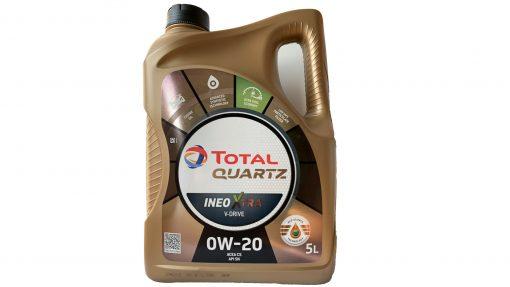 Масло TOTAL QUARTZ Xtra V-Drive 0W20 - 5L