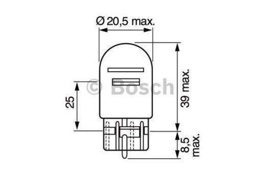 Крушка с нагреваема жичка (1987302823 - BOSCH)