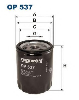 Маслен филтър (OP537 - FILTRON)