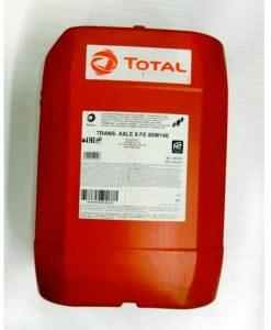 Трансмисионно масло TOTAL TRANSMISSION AXLE 8 FE 80W140 - 20L
