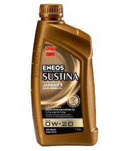 Масло ENEOS SUSTINA 0W20 1L
