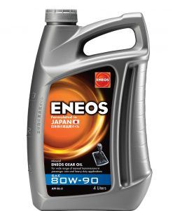 Трансмисионно масло ENEOS GEAR OIL 80W90 4L