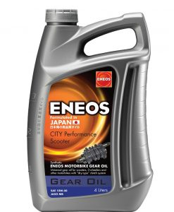 Масло ENEOS CITY PERFORMANCE SCOOTER GEAR OIL 4L