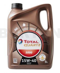 Масло TOTAL QUARTZ 5000 Diesel 15W40 - 5L