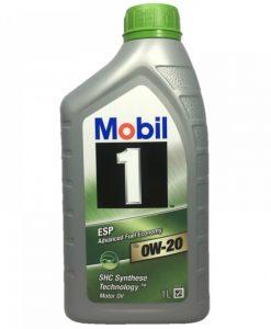 Масло MOBIL 1 ESP X2 0W20 1L