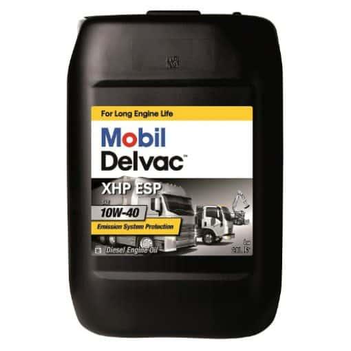 Масло MOBIL DELVAC XHP ESP 10W40 20L