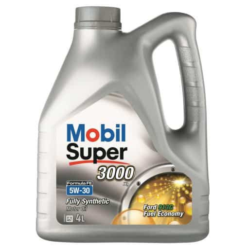 Масло MOBIL SUPER 3000 Formula FE 5W30 4L