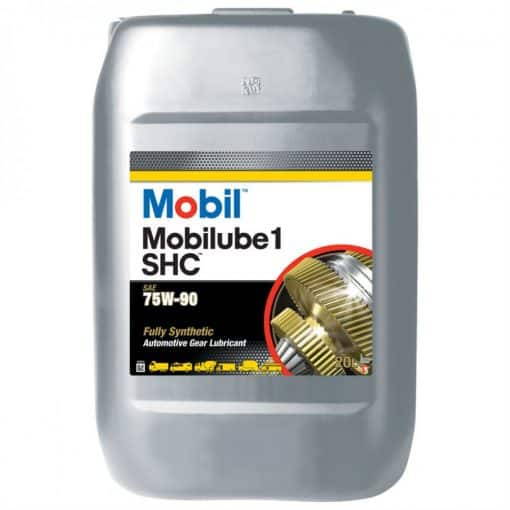 Трансмисионно масло MOBIL MOBILUBE 1 SHC 75W-90 20L