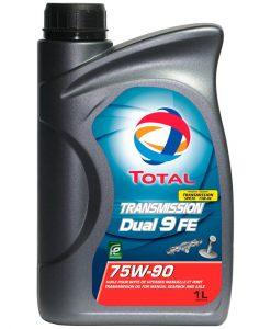 Трансмисионно масло TOTAL TRANSMISSION DUAL 9 FE 75W90 - 1L