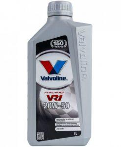 Масло VALVOLINE VR1 RACING 20W50 1L