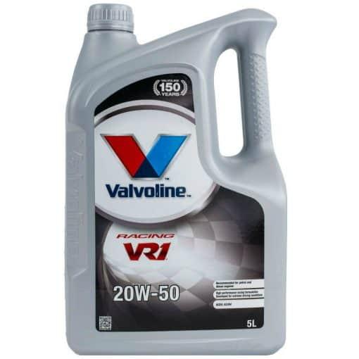 Масло VALVOLINE VR1 RACING 20W50 5L
