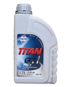 Масло FUCHS TITAN GT1 PRO V 0W20 1L