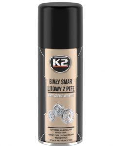 Бяла грес K2 WHITE GREASE PTFE 400 ML