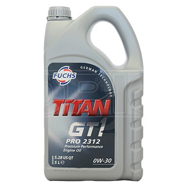Масло FUCHS TITAN GT1 PRO 2312 0W30 1L