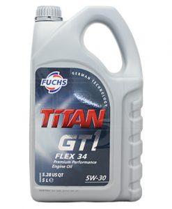 Масло FUCHS TITAN GT1 FLEX 34 5W30 5L