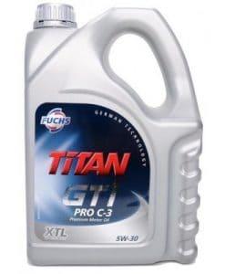 Масло FUCHS TITAN GT1 PRO C3 5W30 5L