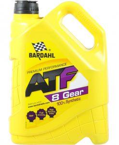Трансмисионно масло BARDAHL ATF 8 GEAR 5L