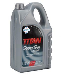 Масло FUCHS TITAN SUPERSYN LONGLIFE 0W40 5L