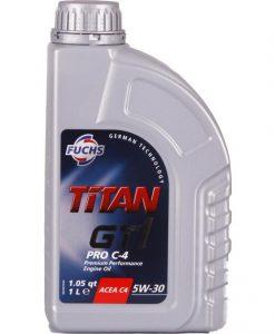 Масло FUCHS TITAN GT1 PRO C4 5W30 1L