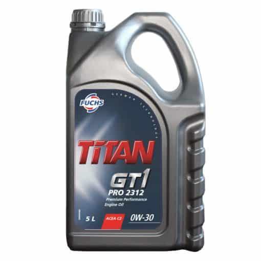 Масло FUCHS TITAN GT1 PRO 2312 0W30 5L