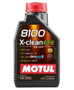 Масло MOTUL 8100 X-CLEAN EFE 5W30 - 1L