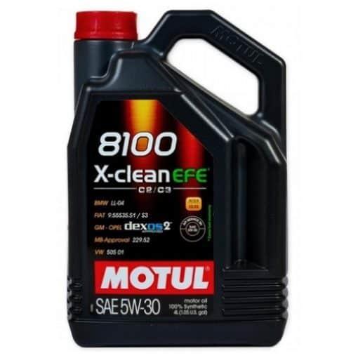 Масло MOTUL 8100 X-CLEAN EFE 5W30 - 4L