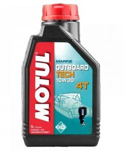 Масло MOTUL OUTBOARD TECH 10W30 4T - 1L