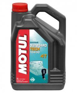 Масло MOTUL OUTBOARD TECH 10W30 4T - 5L