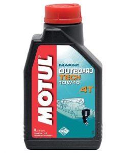 Масло MOTUL OUTBOARD TECH 10W40 4T - 1L