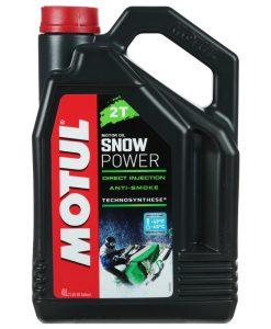 Масло Motul SNOWPOWER 2T - 4L