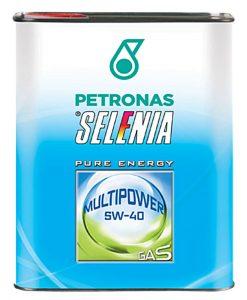 Масло SELENIA MULTIPOWER GAS 5W40 - 2L