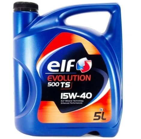 Масло ELF EVOLUTION 500 TS 15W40 - 5L