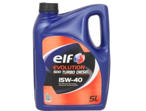 Масло ELF EVOLUTION 500 Turbo D 15W40 - 5L