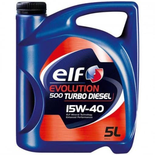 Масло ELF EVOLUTION 500 Turbo D 15W40 - 5L