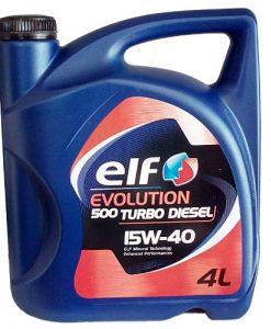 Масло ELF EVOLUTION 500 Turbo D 15W40 - 4L