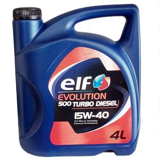 Масло ELF EVOLUTION 500 Turbo D 15W40 - 4L