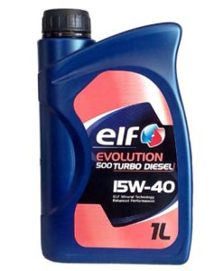 Масло ELF EVOLUTION 500 Turbo D 15W40 - 1L