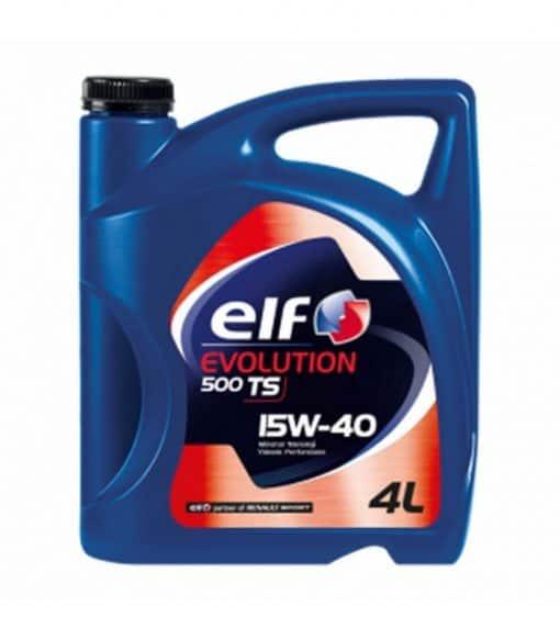 Масло ELF EVOLUTION 500 TS 15W40 - 4L