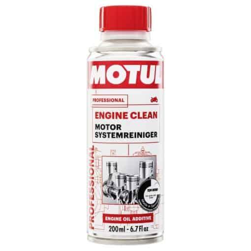 Добавка MOTUL ENGINE CLEAN MOTO - 200ML
