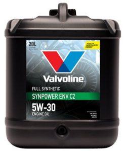 Масло VALVOLINE SYNPOWER ENV C2 5W30 20L