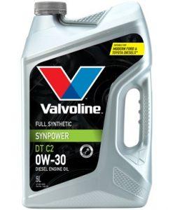 Масло VALVOLINE SYNPOWER DT C2 0W30 5L